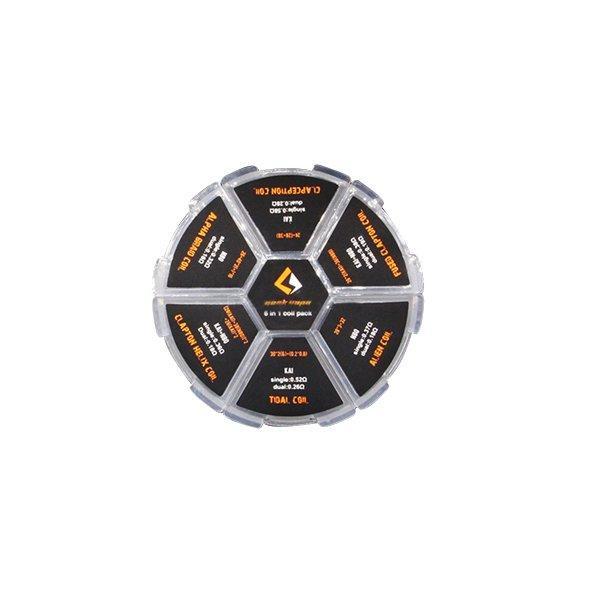 Box de Coils Pré-Montadas GeekVape 6 em 1