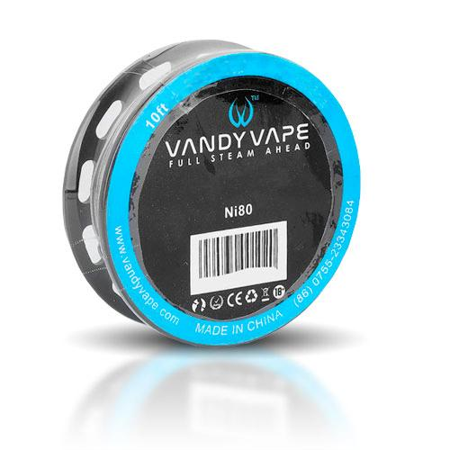 Vandy Vape Ni80 Clapton Wire 26ga+35ga 10ft
